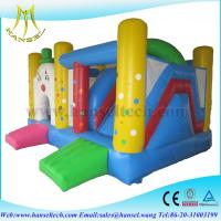Hansel inflatable game for children,inflatable bossaball game court,bouncy castle slide Manufactures