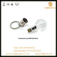 New design lamp bulb usb flash drive for promotion gift Manufactures