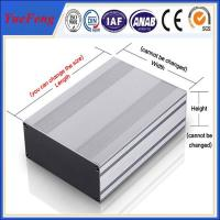 ALUMINUM EXTRUDED POWER ENCLOSURE 104*28*L MM (W*H*L) ALUMINUM PROFILES INSTRUMENTS ENC Manufactures