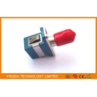 Multimode Hybrid Fiber Optic Adapter SC - ST Connector With Ceramic Sleeve Manufactures