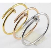 Fashion 316L Stainless Steel Girls Fancy Bangles Manufactures