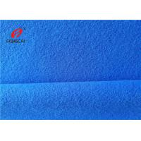 Single Brushed 100% Polyester Tricot Knit Fabric Super Poly Velvet Fabric Manufactures