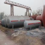 9.0m3 Industrial Pressure Vessel , Air Pressure Container High temperature Manufactures