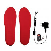 Buy cheap Electric Heated Insoles 3.7v Battery Operated with Built-in Heating Element from wholesalers