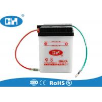 China White Small 6 Volt Motorcycle Battery , Custom 6v Sealed Lead Acid Battery on sale