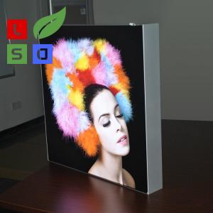 China LED Fabric Light Box Single Side Frameless For LED Shop Display on sale