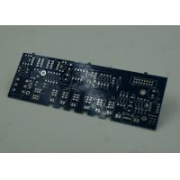 Blue FR4 PCB Printed Circuit Board Immersion Silver Finish White Silkscreen Manufactures