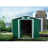 China Waterproof Corrugated Metal Shed Hige Strength Easy Installation Resisting Rain on sale