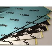 Less Noise Butyl Sound Deadening Material With Single Side Coated Shock Absorption Manufactures