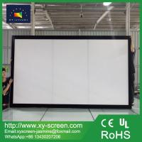 Fashion OEM frame and size matt white fixed square projection screen for home/meeting room/exhibition hall Manufactures