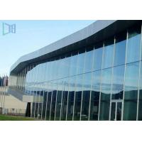 Quality Aluminium Thermal Break Curtain Wall , Customized Invisible Frame Curtain Wall for sale