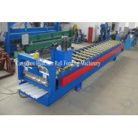 China Trapezoid Cold Roll Forming Machine With Manual / Hydraulic Uncoiler on sale