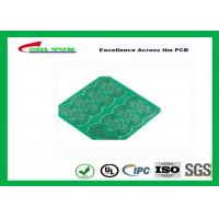 1 Layer CEM 1 PCB 1.6mm 1OZ Green Solder Mask E-TEST with Fiducial Marks Manufactures