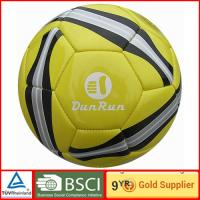 China Durable Custom printing PVC customize soccer ball for outdoor training on sale