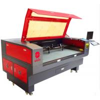 High Precision Leather Laser Cutting Machine , Auto CNC Leather Cutter For Samples Manufactures