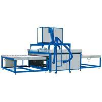 Washing And Drying Glass Processing Machines , Glass Cleaning Machine Manufactures
