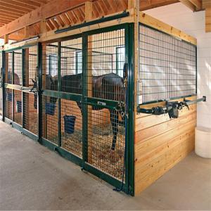 horse stable panel barn door paddock/ducth doors JH Steel hot sale Manufactures