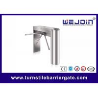 Quality 304 SS Tripod Turnstile Barrier Gate Card Swipe Security Entrance Machine for sale