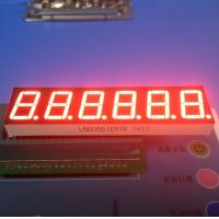 6 Digit 0.56 Inch Ultra Bright Red 7 Segment Led Display For Weighing Scale Manufactures
