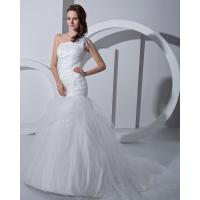 Fashion white drop waist Bra Wedding Dresses tulle Princess Wedding Gowns Manufactures