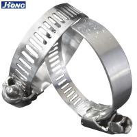 China American/German Type  Stainless Steel Hose Clamp,Pipe Metal Tie on sale