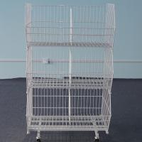 Warehouse Storage Cages Metal Stackable Pallet for sale