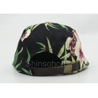 Quality Fashion Woman / Lady Printed Baseball Caps Cotton Colorful 22 - 23.6 Inch for sale