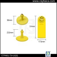 TPU Material Sheep Ear Tags Waterproof Structure Design For Livestock Farm Manufactures