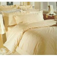 Quality Cotton Satin Stripe Hotel Bedding Set for sale