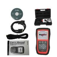 China Autel MaxiCheck Airbag OBD2 Scanner Codes , ABS SRS Light Service Reset Tool on sale