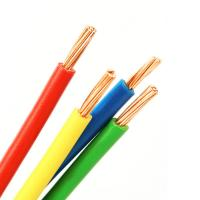 H07V-R Strands Bare Copper Conductor PVC Insulated Electrical Cable House Wire Manufactures