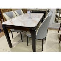 China Durable Square Oak Dining Table , Solid Oak Dining Set For Small Room Units on sale