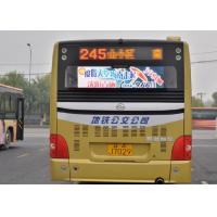 P5 Multi Color Bus LED Display Bus Rear Advertising / outdoor led destination boards for buses Manufactures