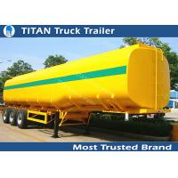 40000 Liters milk tanker trailer , 1 3 5 compartment pneumatic tank trailers Manufactures