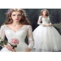 Ladies Wedding Party Dresses V-neck in  Soft ChiffonElegant Style Manufactures