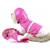 PVC Female Akita Dog Clothes Raincoat with Hat Waterproof XL for Shiba , Beagle Pet Manufactures