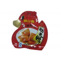 China Custom Laminated Die Cut Snack Food Packaging Bags Stand Up With Reclosable Spout on sale