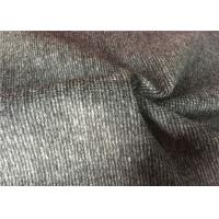 "57 / 58"" Comfortable Woven Wool Fabric Breathable For Garment Suit Coat Manufactures"