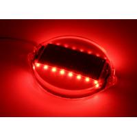PC Shell Wired Road Stud Reflectors LED Flashing Marker Lights 16 LEDs 1000M Visible Manufactures