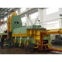 Yellow Hydraulic Metal Cutting Shear Machinery For Thin & Light Scraps Manufactures
