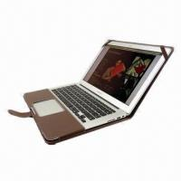 Buy cheap Luxurious Leather Case for MacBook Air 11/13 and Pro, 13/15 Inches, White from wholesalers