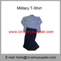 Wholesale Cheap China Military Wool Cotton Polyester Army Police Officer Shirt Manufactures