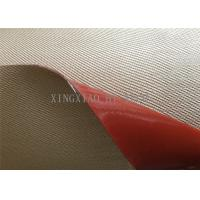 Chemical Corrosion Silicone Coated High Silica Fiberglass Fabric Cloth Multi Color Manufactures