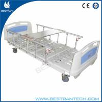 Cross Brakes 3 Function Medical Hospital Beds And 4 - Part Bedboard Manufactures