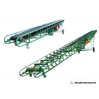 China Construction Industry Portable Belt Conveyor Systems With Smooth Belt Surface on sale