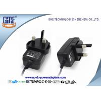 CE / ROHS 3 PIN 12V Power Adapter For DVD , Various DC Plugs Available Manufactures