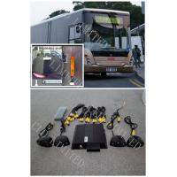 Night Vision Bus Camera Around View Monitor System 580TVL PAL / NTSC HD Manufactures