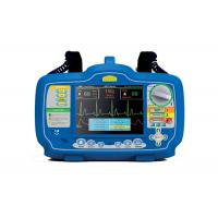 7 Inches Screen First Aid Equipment Biphasic Automatic Portable AED Defibrillator Monitor Manufactures