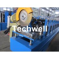 13 Forming Stations Roller Shutter Door Cold Roll Forming Machine With Manual Decoiler Manufactures