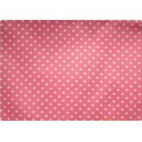 Comfortable Pink 100 Ramie Fabrics , Garment / Bedding / Sofa Ramie Cloth Manufactures